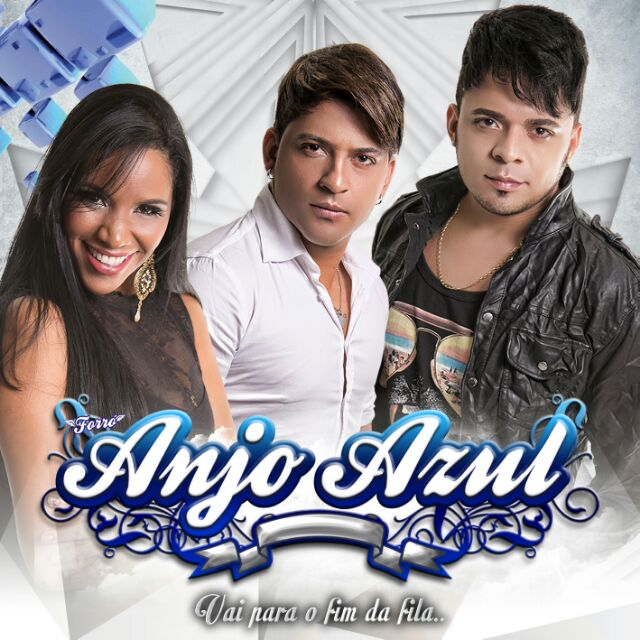 Capa novo CD do Forro Anjo Azul