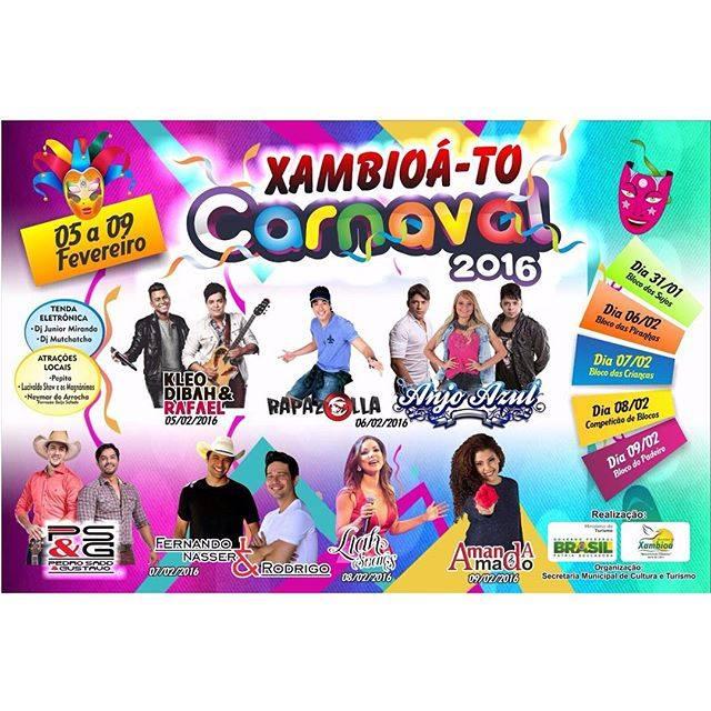 carnaval xambioa